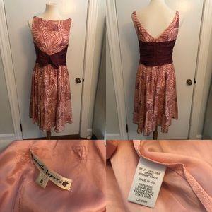 Nanette Lenore 100% silk dress size 8